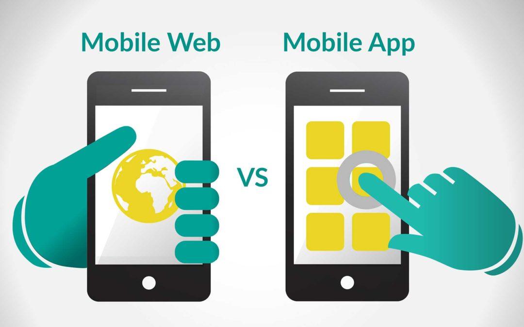 «Mobile Website» ή «Mobile App»;;;