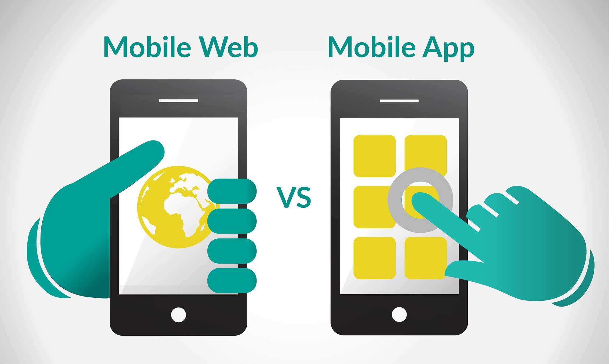 mobile-web vs mobile app kataskevi istoselidon eshop pliroforiki codewild